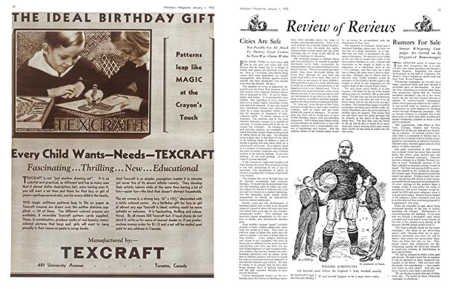 Article Preview: Rumors For Sale, January 1st 1935 1935 | Maclean's