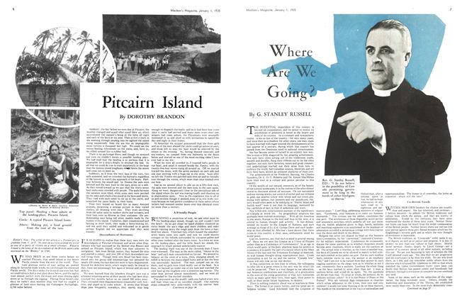 Article Preview: Pitcairn Island, January 1st 1935 1935 | Maclean's