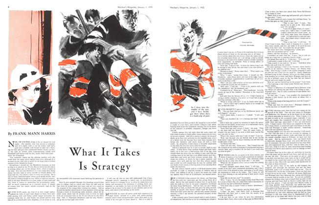 Article Preview: What It Takes Is Strategy, January 1st 1935 1935 | Maclean's