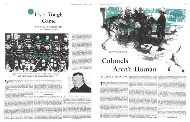 Article Preview: It's a Tough Game, January 1st 1935 1935 | Maclean's
