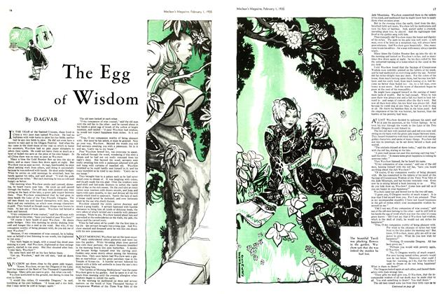 Article Preview: The Egg of Wisdom, February 1st 1935 1935 | Maclean's