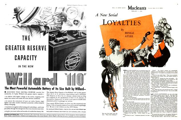 Article Preview: A New LOYALTIES, February 1st 1935 1935 | Maclean's