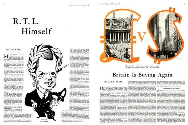 Article Preview: Britain Is Buying Again, February 1st 1935 1935 | Maclean's