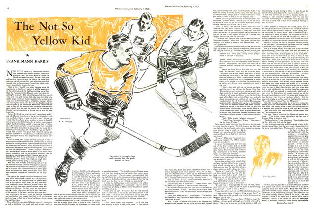 Article Preview: The Not So Yellow Kid, February 1st 1935 1935 | Maclean's