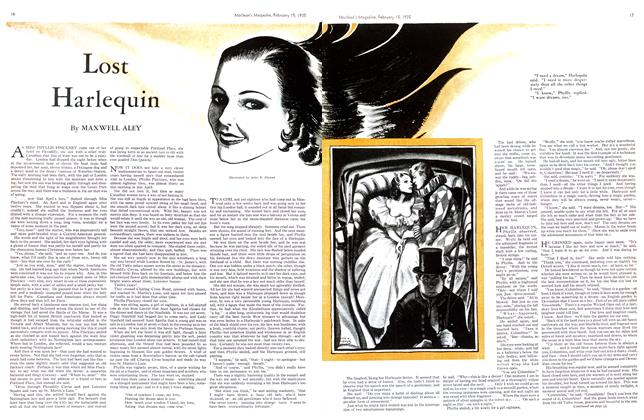 Article Preview: Lost Harlequin, February 1935 | Maclean's