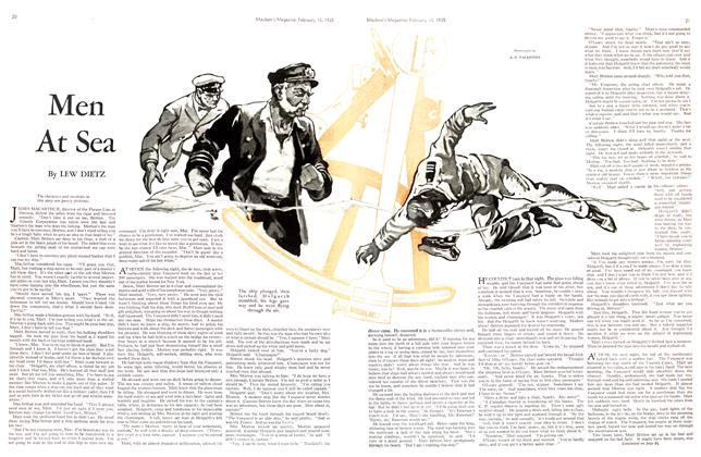 Article Preview: Men At Sea, February 1935 | Maclean's