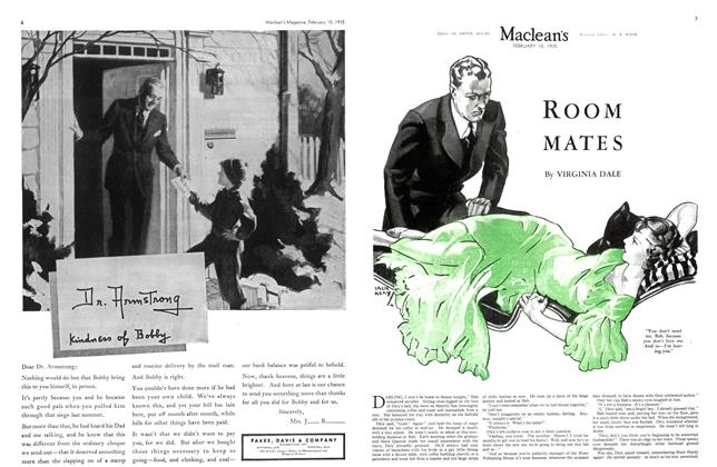 Article Preview: ROOM MATES, February 1935 | Maclean's