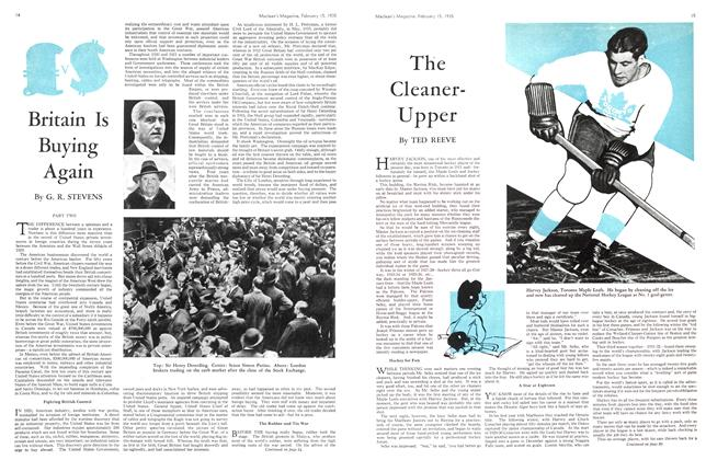 Article Preview: Britain Is Buying Again, February 1935 | Maclean's