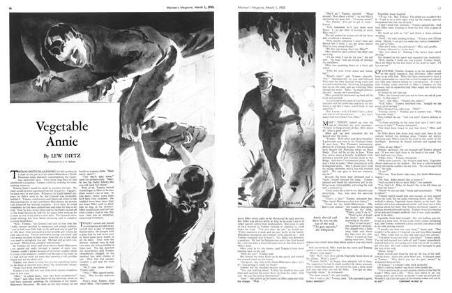 Article Preview: Vegetable Annie, March 1st 1935 1935 | Maclean's