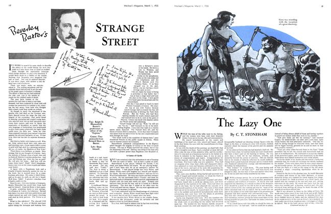 Article Preview: STRANGE STREET, March 1st 1935 1935 | Maclean's