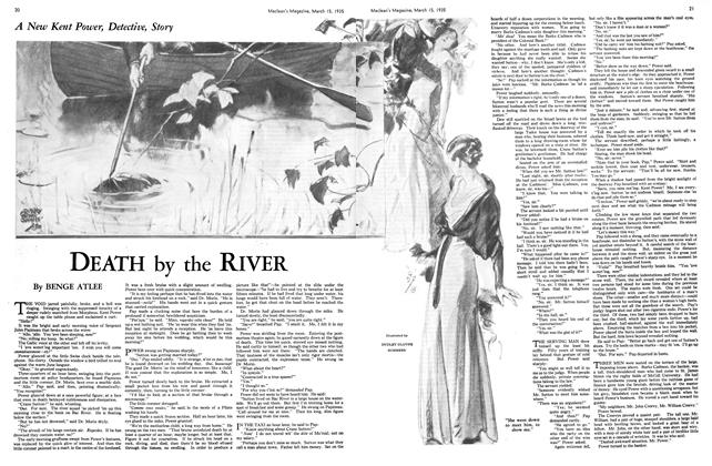 Article Preview: DEATH by the RIVER, March 1935 | Maclean's