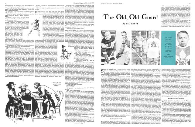 Article Preview: The Old, Old Guard, March 1935   Maclean's