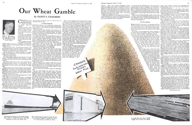 Article Preview: Our Wheat Gamble, March 1935 | Maclean's