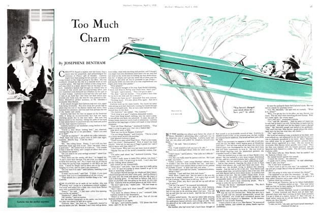 Article Preview: Too Much Charm, April 1st 1935 1935 | Maclean's