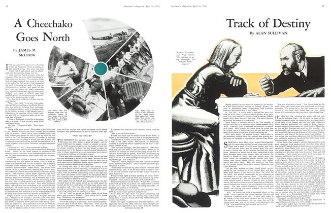 Article Preview: Track of Destiny, April 1935 | Maclean's