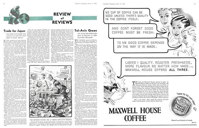 Article Preview: Tel-Aviv Grows, April 1935 | Maclean's