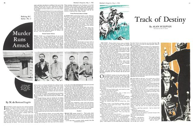 Article Preview: Track of Destiny, May 1st 1935 1935 | Maclean's