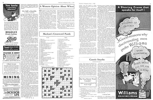 Article Preview: It's Still a Gamble, May 1st 1935 1935 | Maclean's