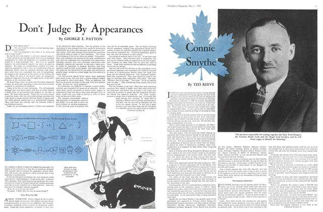 Article Preview: Connie Smythe, May 1st 1935 1935 | Maclean's
