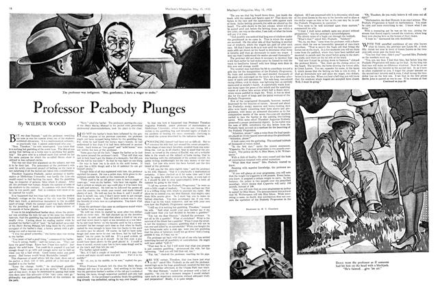 Article Preview: Professor Peabody Plunges, May 1935 | Maclean's