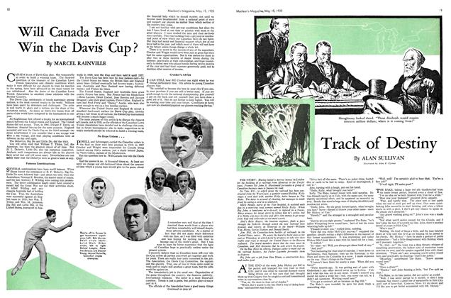 Article Preview: Will Canada Ever Win the Davis Cup?, May 1935 | Maclean's
