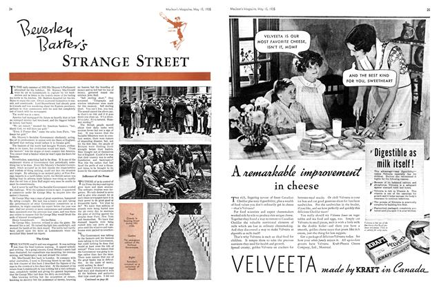Article Preview: Beverley Baxter's STRANGE STREET, May 1935 | Maclean's