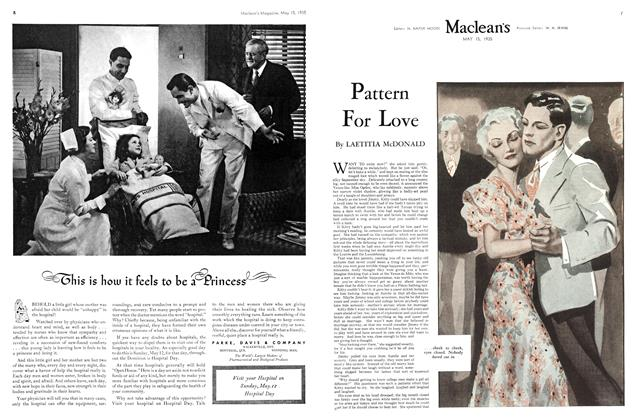 Article Preview: Pattern For Love, May 1935 | Maclean's
