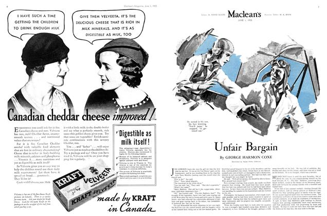 Article Preview: Unfair Bargain, June 1st 1935 1935 | Maclean's