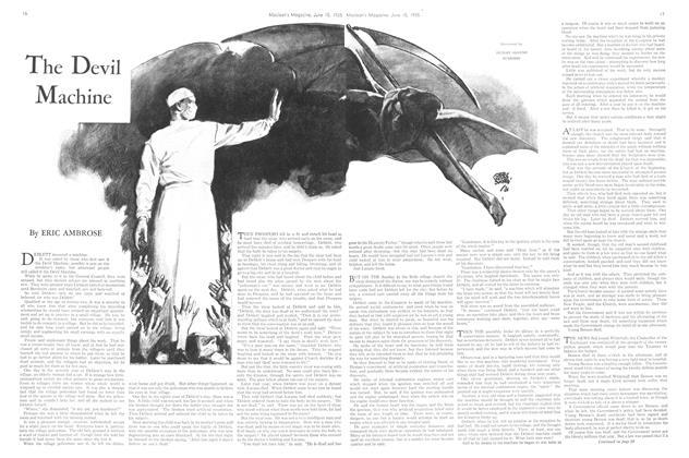 Article Preview: The Devil Machine, June 1935   Maclean's