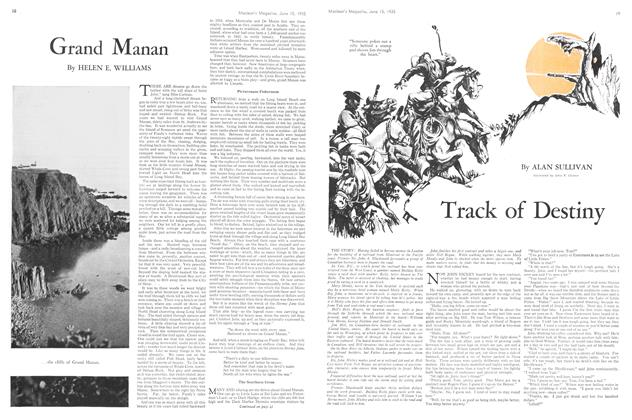 Article Preview: Track of Destiny, June 1935 | Maclean's