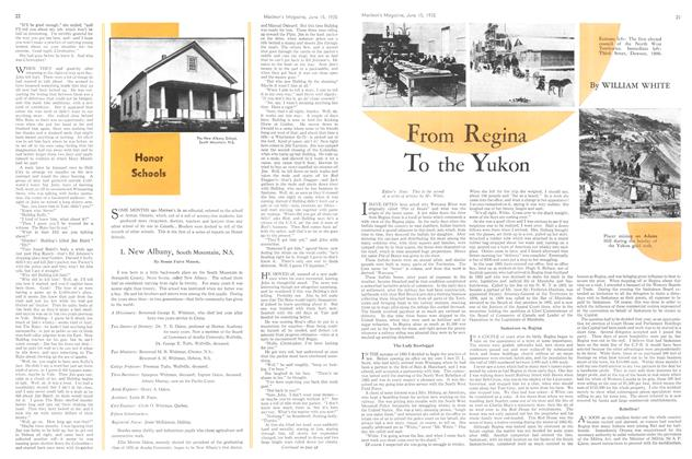 Article Preview: From Regina To the Yukon, June 1935 | Maclean's