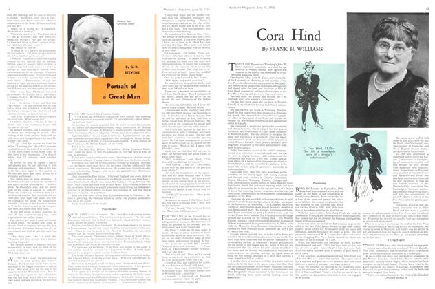 Article Preview: Portrait of a Great Man, June 1935 | Maclean's