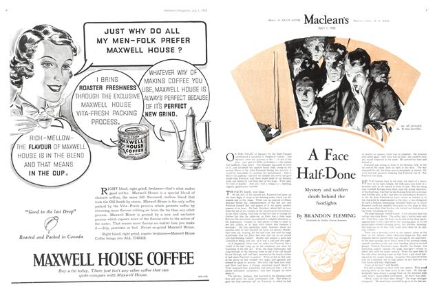 Article Preview: A Face Half-Done, July 1st 1935 1935 | Maclean's