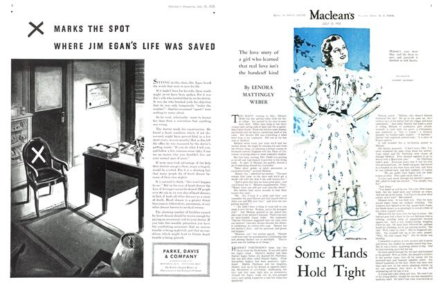 Article Preview: Some Hands Hold Tight, July 1935 | Maclean's