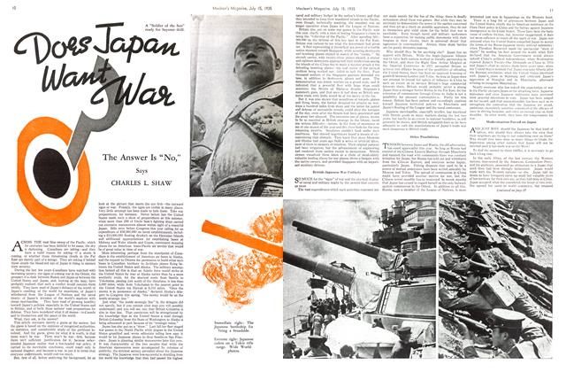 Article Preview: Does Japan Want War, July 1935 | Maclean's