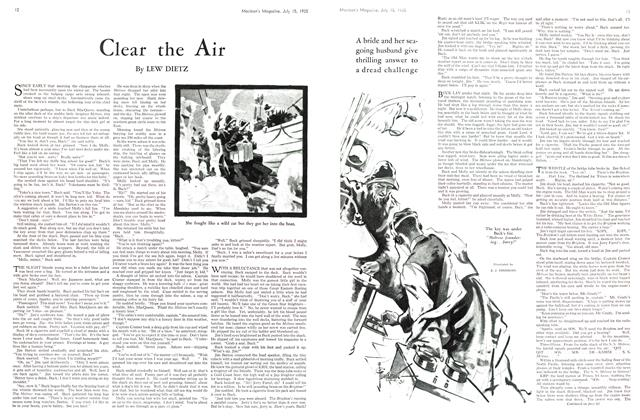 Article Preview: Clear the Air, July 1935 | Maclean's
