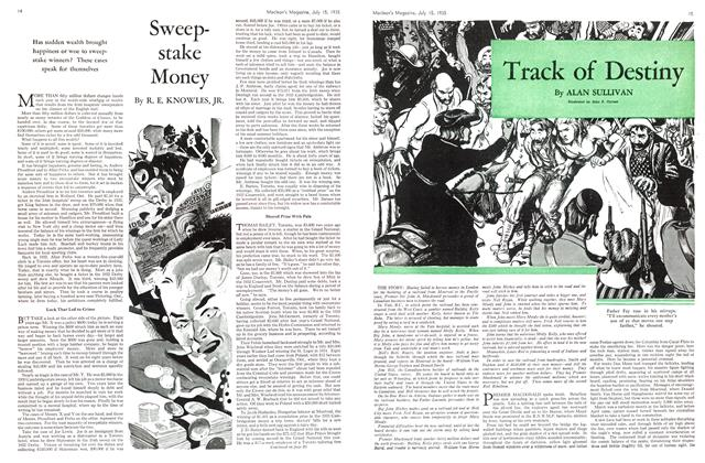 Article Preview: Sweep-stake Money, July 1935 | Maclean's