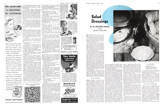 Article Preview: Salad Dressings, August 1st 1935 1935 | Maclean's