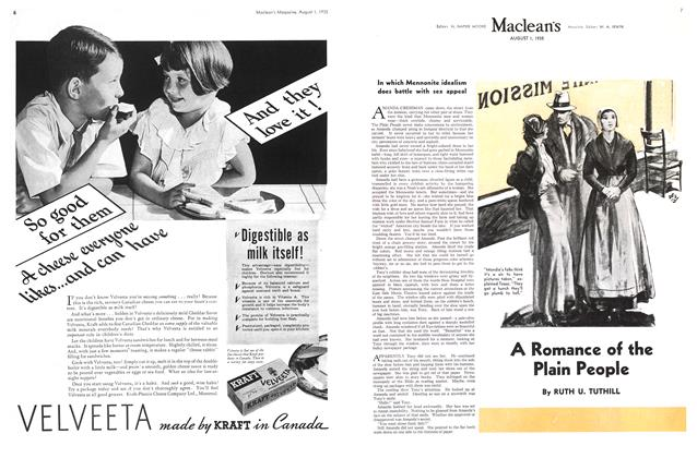 Article Preview: A Romance of the Plain People, August 1st 1935 1935 | Maclean's