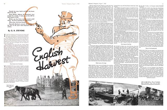 Article Preview: English Harvest, August 1st 1935 1935 | Maclean's