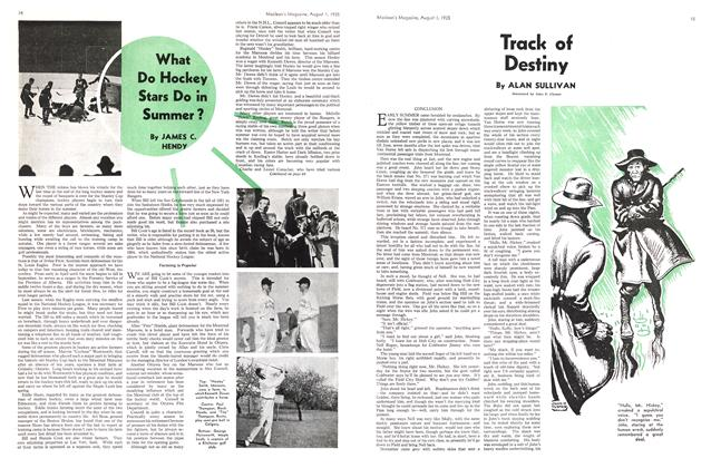 Article Preview: What Do Hockey Stars Do in Summer?, August 1st 1935 1935 | Maclean's