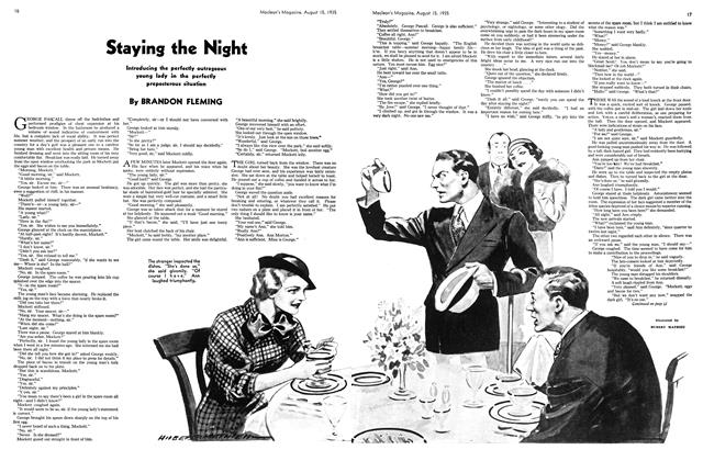 Article Preview: Staying the Night, August 1935 | Maclean's