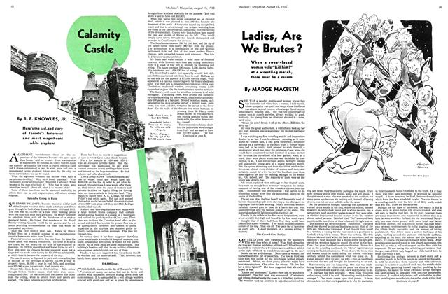 Article Preview: Ladies, Are We Brutes?, August 1935 | Maclean's