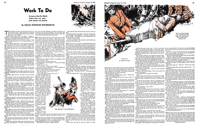 Article Preview: Work To Do, August 1935 | Maclean's