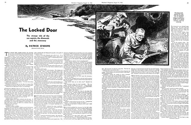 Article Preview: The Locked Door, August 1935 | Maclean's