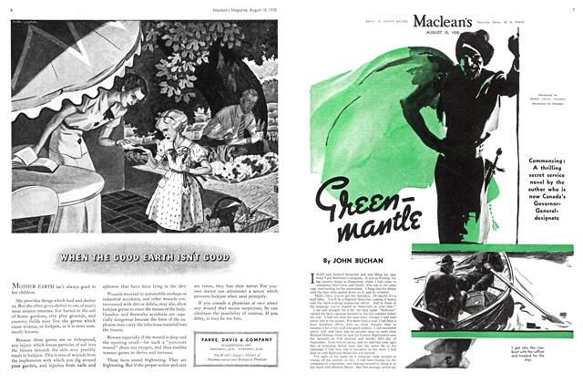Article Preview: Greenmantle, August 1935 | Maclean's
