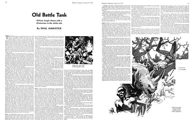 Article Preview: Old Battle Tank, August 1935 | Maclean's