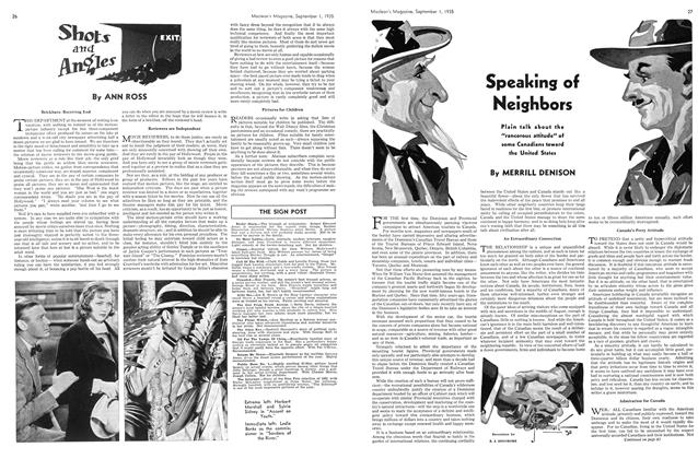 Article Preview: Speaking of Neighbors, September 1st 1935 | Maclean's