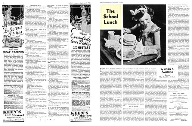 Article Preview: The School Lunch, September 1st 1935 | Maclean's