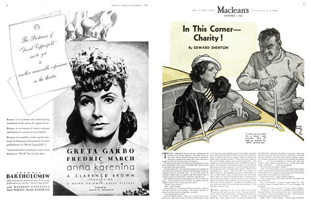 Article Preview: In This Corner— Charity !, September 1st 1935 | Maclean's